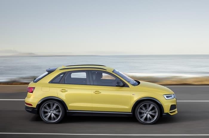 Новый Audi Q3 2018 года