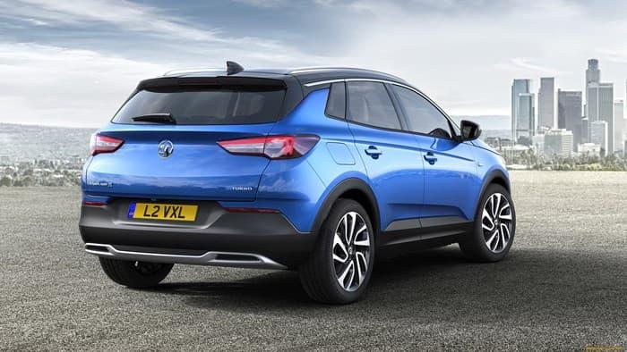Opel Grandland X 2018. Вид сзади