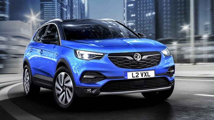 Opel Grandland X 2018 года