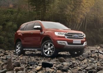 Новый Ford Everest 2018 года