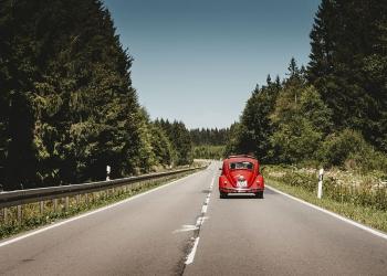 Поездка на машине (фото)